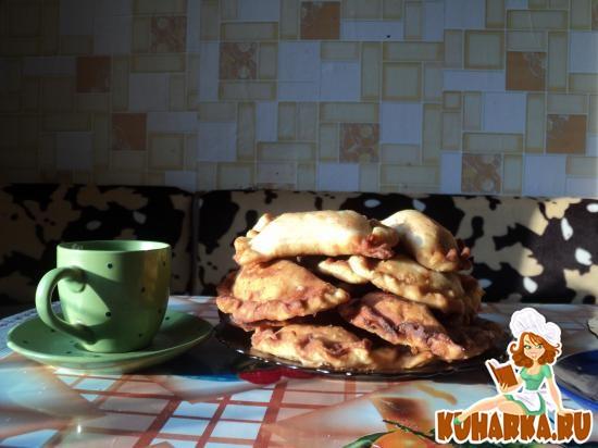 Рецепт Чебуреки с куриным фаршем