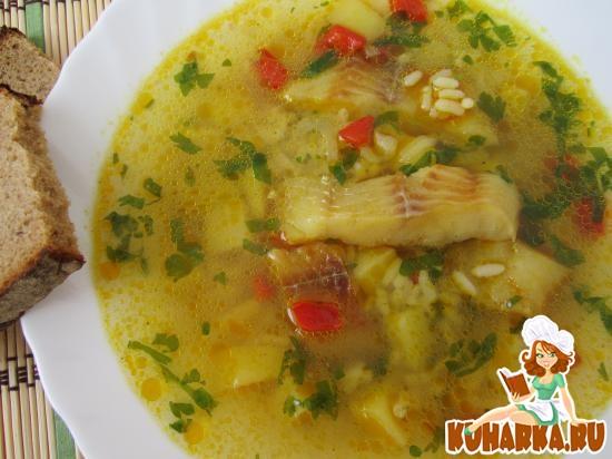 Рыбный суп из минтая рецепт
