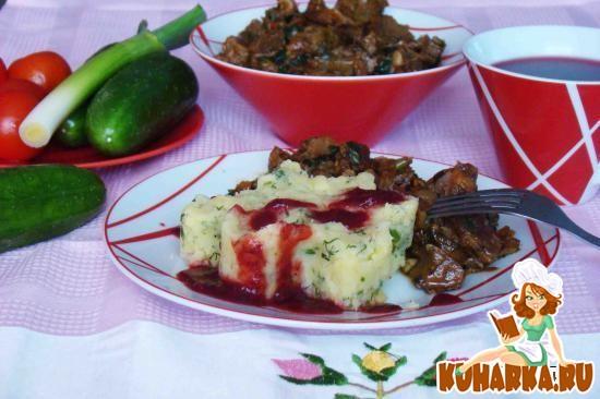 Рецепт Жаркое в соевом соусе с ароматом бальзамического уксуса