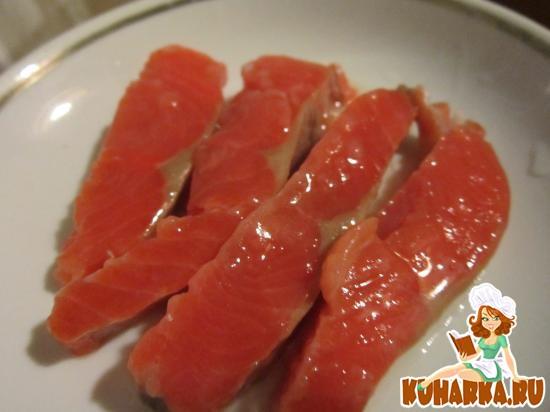 Рецепт Горбуша, соленая под семгу