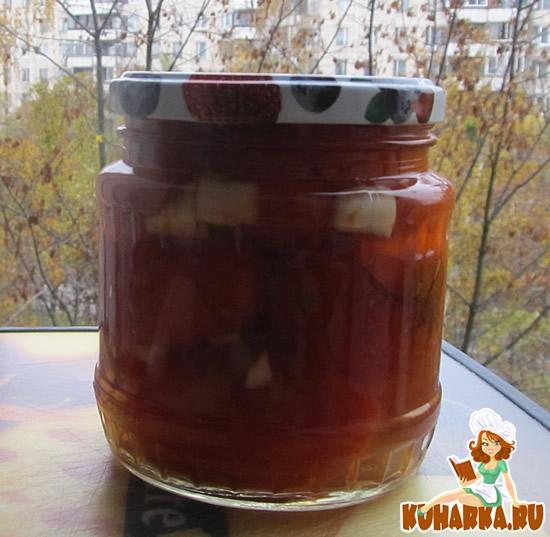 Рецепт Жареные помидоры на зиму