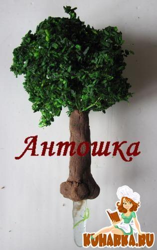 Рецепт Карамельные деревья