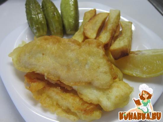 Рецепт FISH n CHIPS