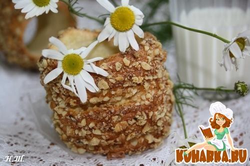 Рецепт Венгерский крученый калач(кюртеш калач).