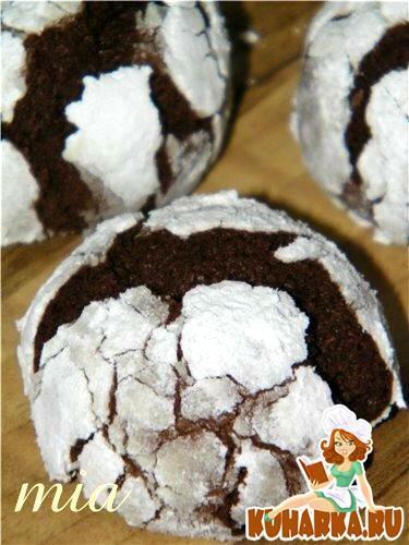 Рецепт Шоколадные трещинки (Chocolate Crinkles)