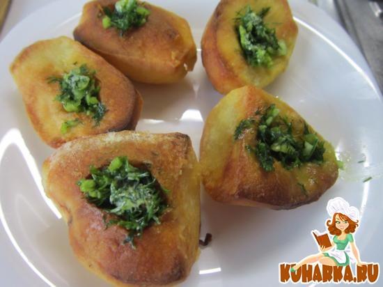 Рецепт Запеченная картошка по-эстонски