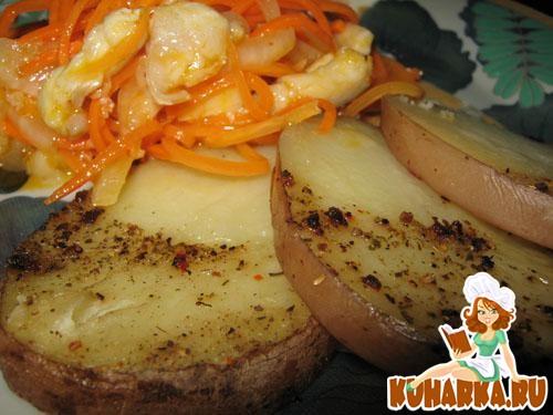 Рецепт Запечённая картошка в духовке