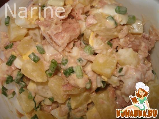 Рецепт Салат из тунца