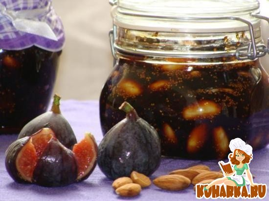 Рецепт Варенье из инжира и миндаля