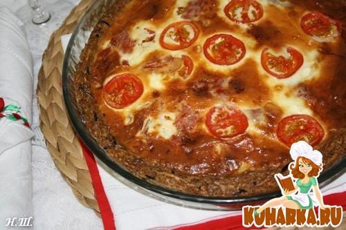 Рецепт Итальянский томатно-рисовый тарт- Pomodoro italiano e riso torta.