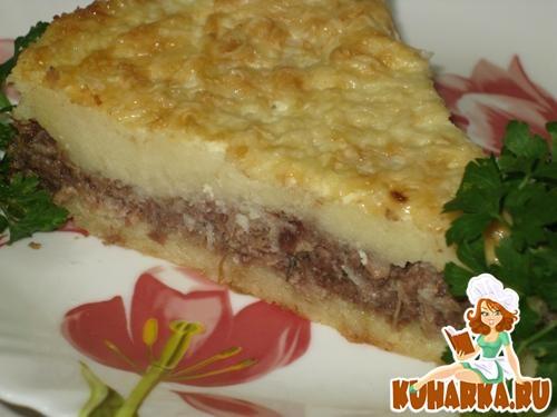 Рецепт картофельная запеканка с тушенкой
