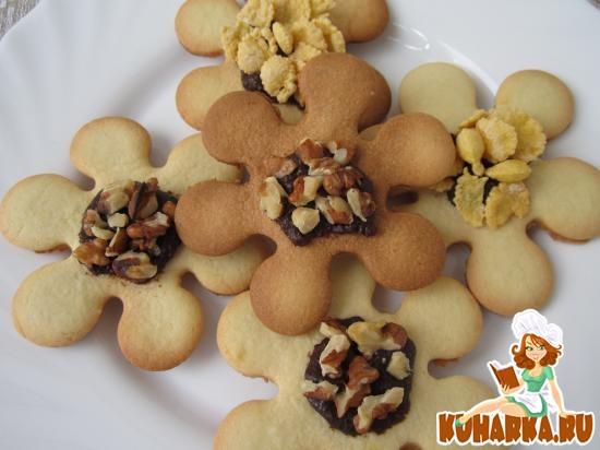 Рецепт Печенье «Ромашки».