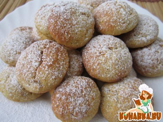 Рецепт Картофельное печенье с халвой.