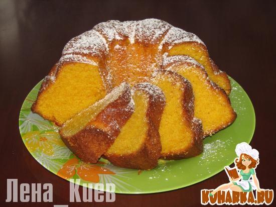 Рецепт Бразильский морковный пирог(кекс).