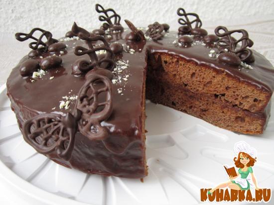 Рецепт Шоколадный торт «Сметанник».