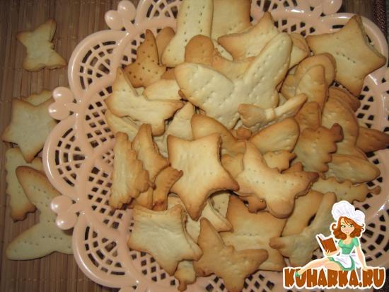 Рецепт Бисквитное печенье «Альберт».