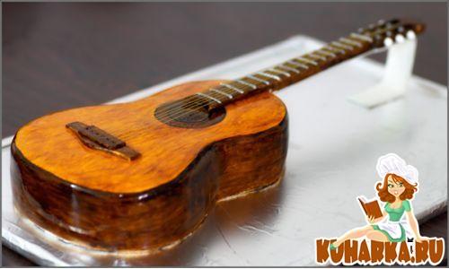 Рецепт Торт-гитара