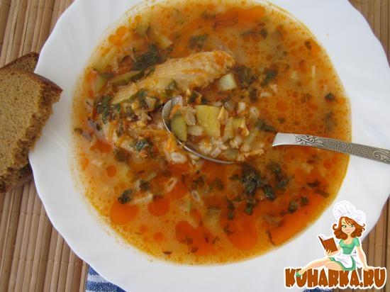 Рецепт Рассольник с перловкой и плавленым сыром.