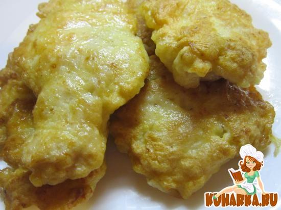 Рецепт Куриные котлеты с кабачком