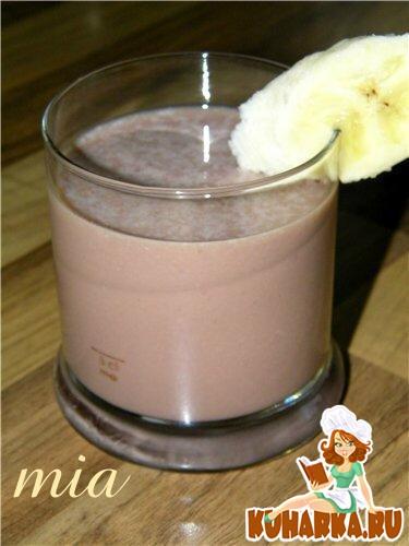 Рецепт Бананово-шоколадный шейк