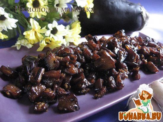 Рецепт Баклажаны с чесноком по - китайски.