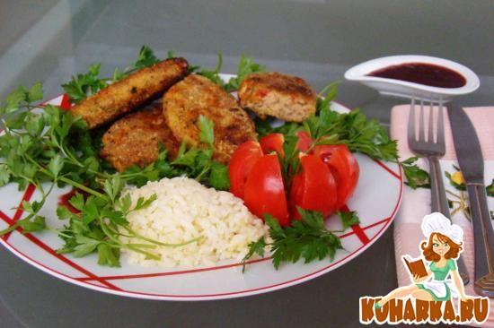 Рецепт Котлеты с помидорами