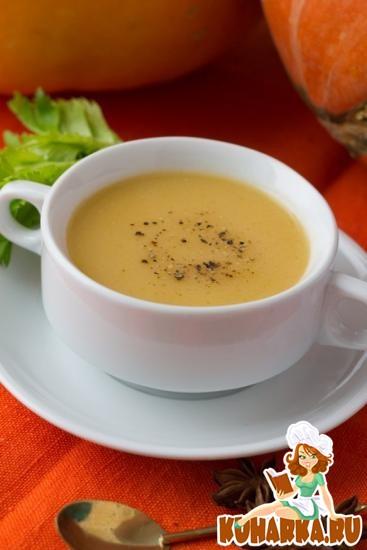 Рецепт Суп-пюре из тыквы — 33 ккал