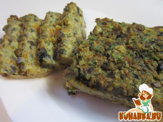 Рецепт Хлебец из грибов