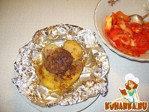 Фарш в фольге в духовке рецепт порционно