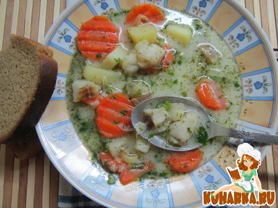 Рецепт Финский рыбный суп.