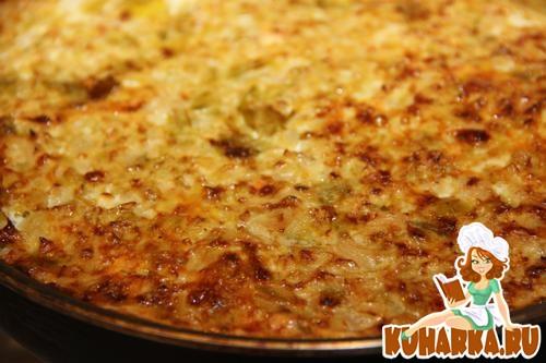 Рецепт Запеканка из капусты и картофеля