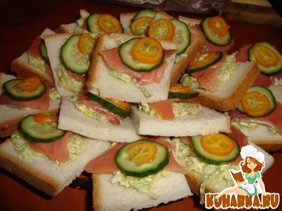 Рецепт Канапе с рыбой