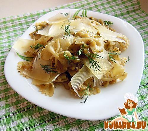 Рецепт Паста под соусом из зеленых помидор
