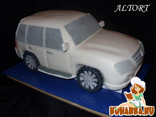 "Рецепт Торт ""Машина"""