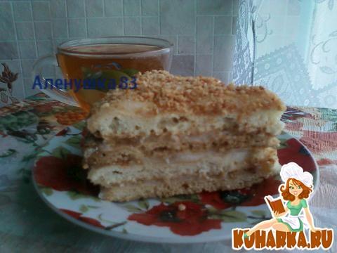 """Рецепт Нежный тортик """"Минимум"""""""