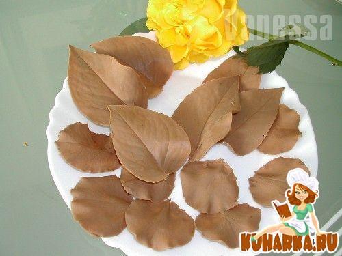 Рецепт Шоколадные листочки