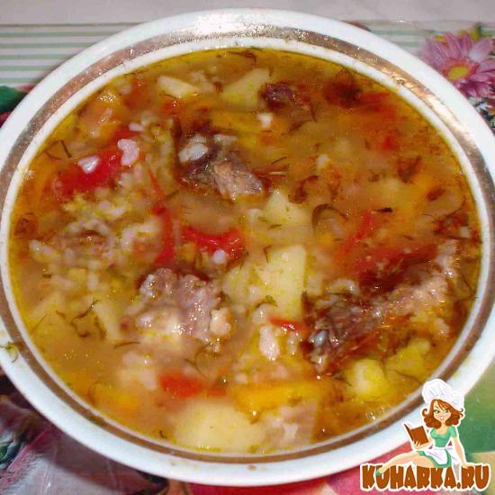Рецепт Суп машхурда