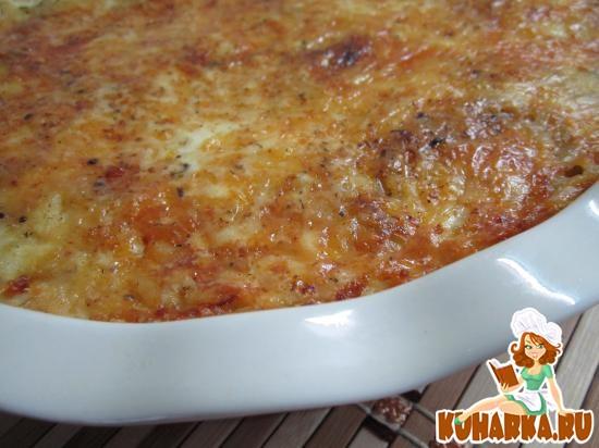 Рецепт Картофельная запеканка «Нежная».