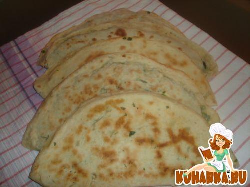 Рецепт Гейли кятя (кятя с зеленью) национальное блюдо