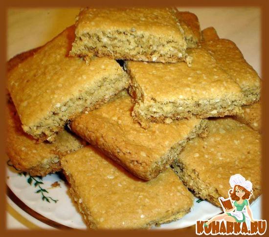 Рецепт печенье из геркулеса