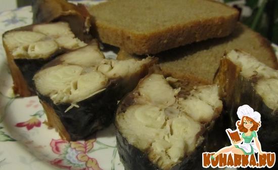 Рецепт Рыба горячего копчения в аэрогриле