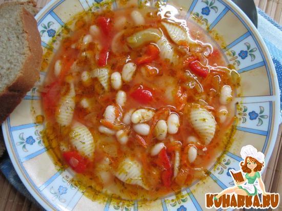 Рецепт Суп «Минестроне».