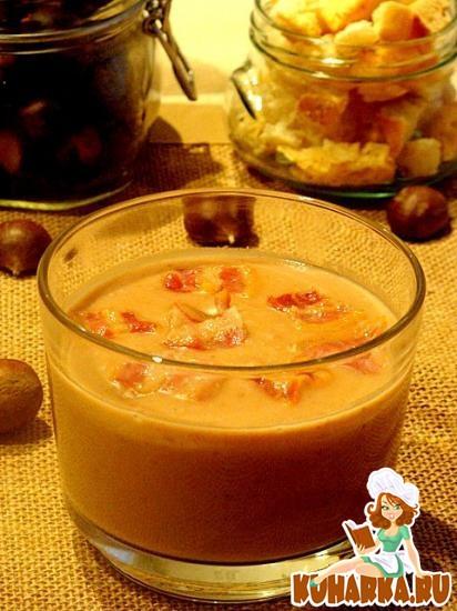 Рецепт Суп из каштанов