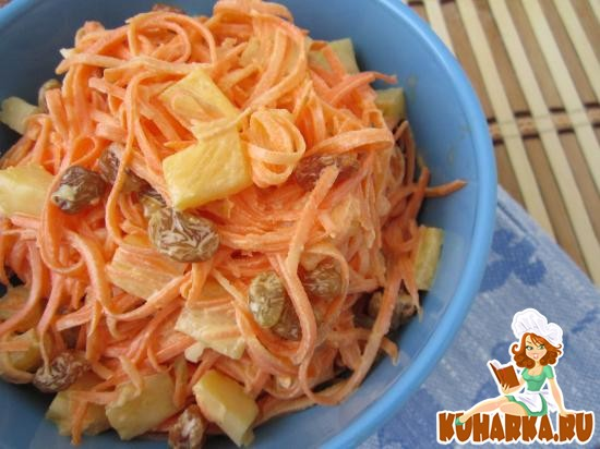 салат из ананасов пошаговый рецепт