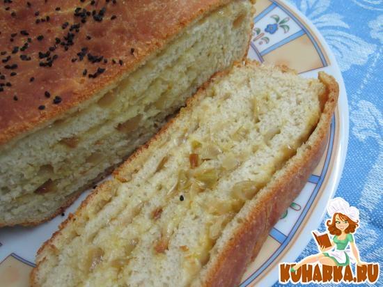 Рецепт Хлеб-луковник.