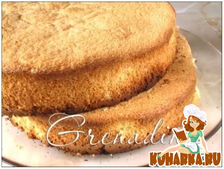 Рецепт Пышный бисквит