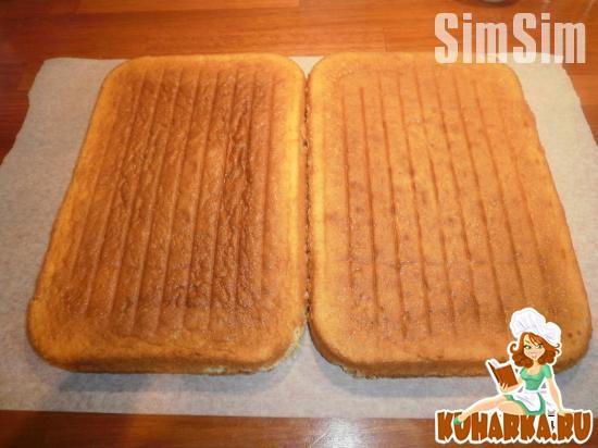 Рецепт Масляный бисквит