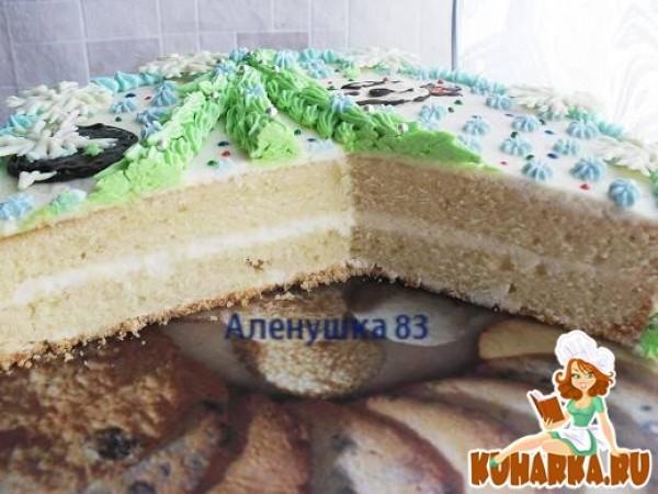 Рецепт бисквита на торт