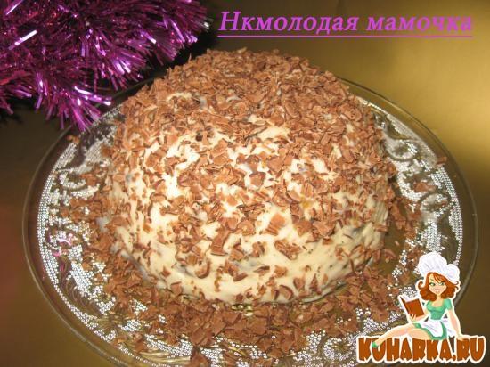 Рецепт Десерт из чернослива с орехами.