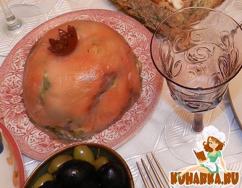 Рецепт Авокадо с копчёным лососем